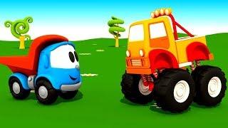 Leo der Lastwagen Videos für Kinder. 5 Folgen am Stück