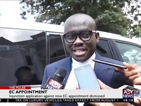 EC Appointment - The Pulse on JoyNews (31-7-18)