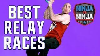 Best Runs: Top Relay Races   American Ninja Warrior: Ninja Vs. Ninja