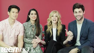 The 'Shadowhunters' Cast Plays 'I Dare You' | Teen Vogue