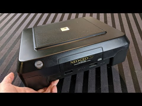 Cleaning and Restoring an SNK Neo Geo CD (Front Loader) - Adam Koralik