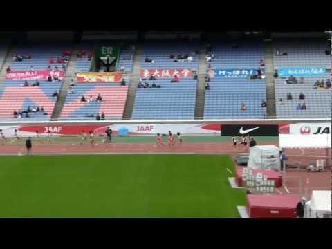 JO陸上 ABC女子 4x100mR 予選-3