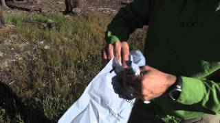 CFI What You'll Find in a Human Waste Pack-Out Bag...Before You Use It
