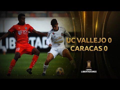 Universidad César Vallejo vs Caracas F.C.</a> 2021-02-24