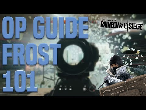 Rainbow Six Siege - Frost NEW Operator Guide - Welcome Mat