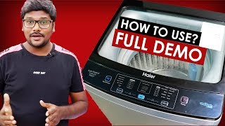 HOW TO USE FULLY AUTOMATIC TOP WASHING MACHINE   HAIER TOP LOAD WASHING MACHINE Pakistan