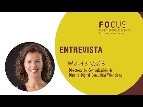 Entrevista Mayte Vañó en Focus Pyme Marina Alta y Marina Baixa 2019[;;;][;;;]