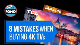 Top 8 Mistakes: 4K TV Buying Guide (End Shopping Confusion!)