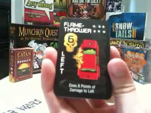UnBoxing: Car Wars The Card Game