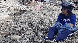 Warga Petobo Ini Terus Meratapi Rumahnya yang Bergeser Ratusan Meter Akibat Likuefaksi