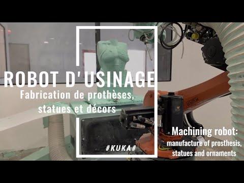 intégrations robotiques de ERM Robotique en usinage