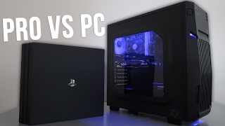 PS4 Pro vs $400 Budget Gaming PC 4K (w/ Benchmarks)