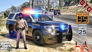 2015 TAHOE| FLORIDA HIGHWAY PATROL!!!| #131 (GTA 5 REAL LIFE PC POLICE MOD)