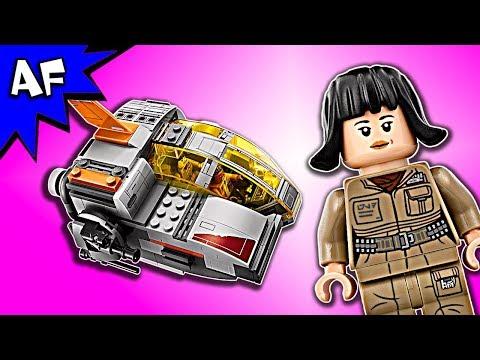 Vidéo LEGO Star Wars 75176 : Resistance Transport Pod