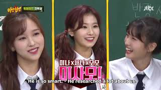 [Eng Sub] - TWICE Knowing Bros ep 152 181103