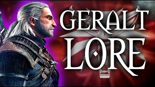 GERALT OF RIVIA - Witcher Lore & Mythology