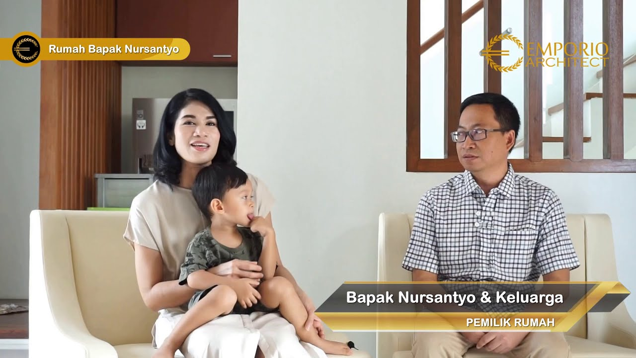 Video Hasil Konstruksi Mr. Nursantyo Villa Bali House 3 Floors Design - Jakarta