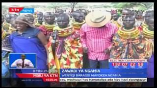 Wenyeji wa Samburu waliopoteza mifugo kwa kiangazi wazawadiwa na Ngamia