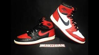 The 1985 Original Air Jordan I 1 Blk/Red