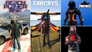GTA Online 10+ AWESOME OUTFITS! (Fortnite, Far Cry, Ready Player One & MORE)