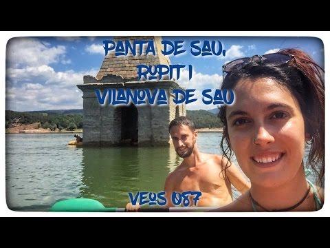 Pantà de Sau en caiac, Rupit i Vilanova