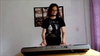Burzum goes Nightwish (Ea  Lord of the Depths Keyboard Cover)