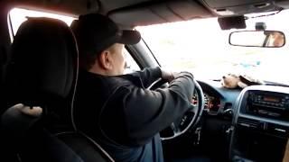 Вращение руля автомобиля