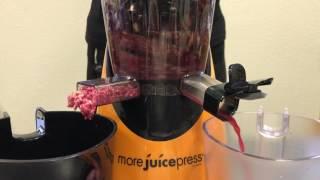 Шнековая соковыжималка  Цептер - видео 3