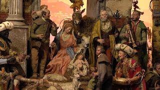 耶稣圣婴展现给我们天主的纯樸