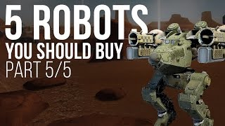 5 Robots You Should Buy (Rogatka) - War Robots - Tutorial - Part 5/5
