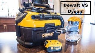 Dewalt Cordless Vacuum vs a Dyson Cordless Vacuum