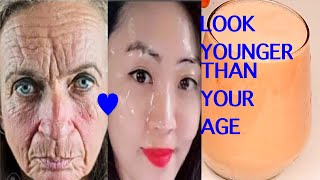 DRINK TO LOOK 16 IF YOU ARE 60! LOOK YOUNGER THAN YOUR AGE!