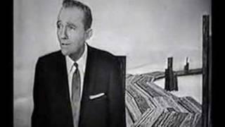 Bing Crosby Sings 'Old Man River'