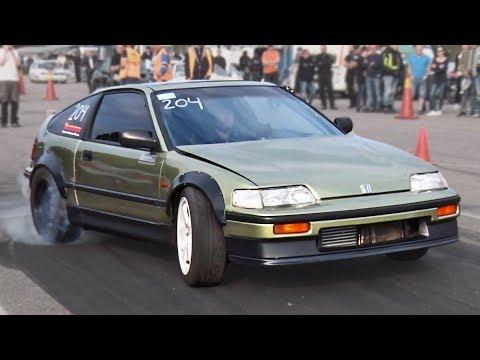 Rear Wheel Drive Honda CRX (BMW Powered!)