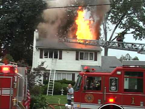 Video Maywood,nj Fire Department House Fire