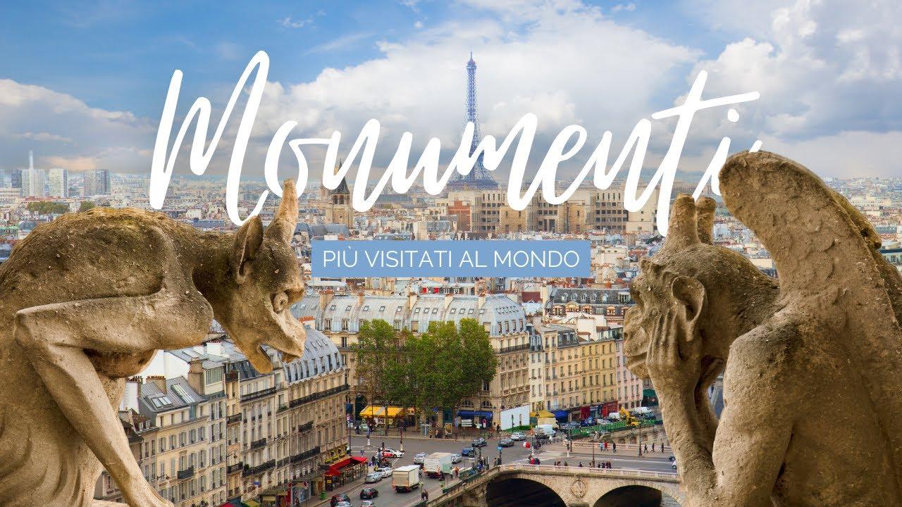 10 Monumenti più visitati al Mondo