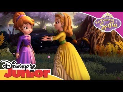 La Princesa Sofía: Momentos Mágicos - Amber es una Heroína | Disney Junior Oficial