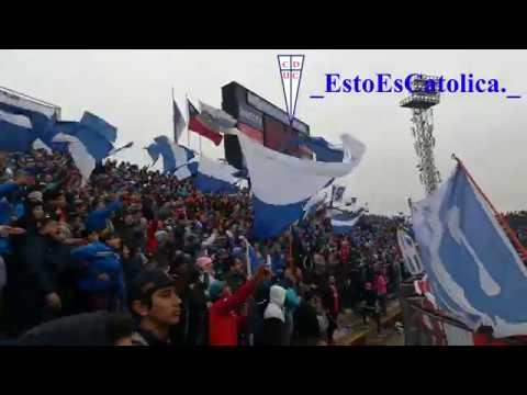 """""""Universidad Catolica vs Colo Colo 2018"""" Barra: Los Cruzados • Club: Universidad Católica"""