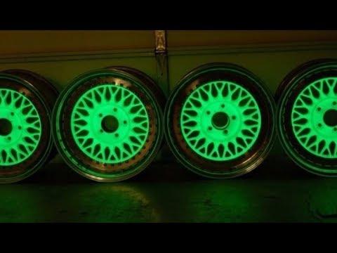 Покраска дисков авто светящейся краской как бизнес идея с минимальными вложениями