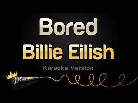 Billie Eilish - Bored (Karaoke Version)
