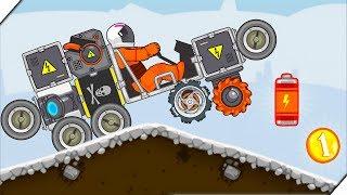 НОВЫЕ ДЕТАЛИ ЛУНОХОДА - RoverCraft Построй Луноход # 4  Игры Андроид