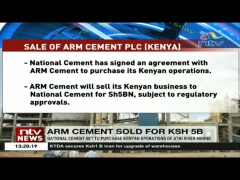 National cement set to purchase Kenyan operations at Athi River mining