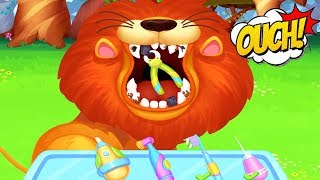Play Fun Cute Animal Care - Save The Jungle Animals - Little Pet Care Games For Kids Toddlers