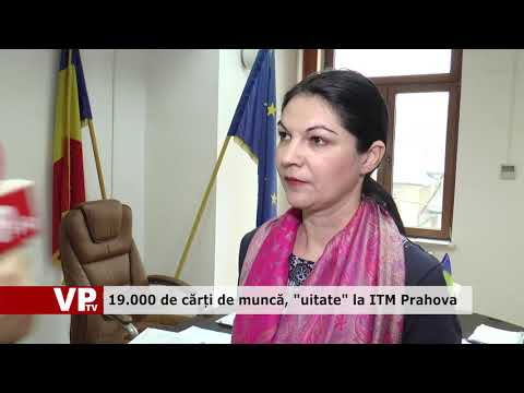 """19.000 de cărți de muncă, """"uitate"""" la ITM Prahova"""