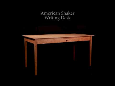 American Shaker Writing Desk | Vermont Woods Studios