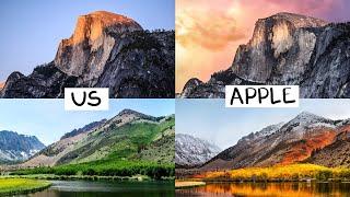 Alla scoperta dei luoghi degli sfondi creati per l'OS di Apple