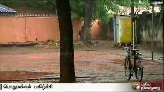Madurai residents rejoice rain in the district