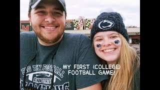 MY FIRST (COLLEGE) FOOTBALL GAME + THANKSGIVING || Weekly Vlog #6 | Alyssa Michelle - Video Youtube