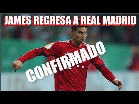 JAMES Rodriguez VUELVE a REAL Madrid CONFIRMADO Bayern NO LO COMPRA