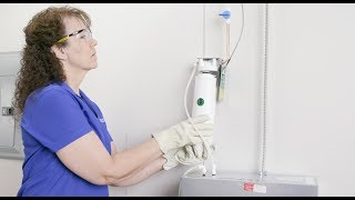 Watch How to Install an Elkay ezH2O Liv Built-in Filtered Water Dispenser With Remote Chiller